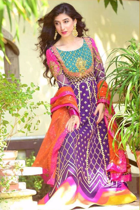 Picture of Beautiful Mariyam Nafees shines bright in this stunning anarkali 'Naaz' from our Festive Formals collection