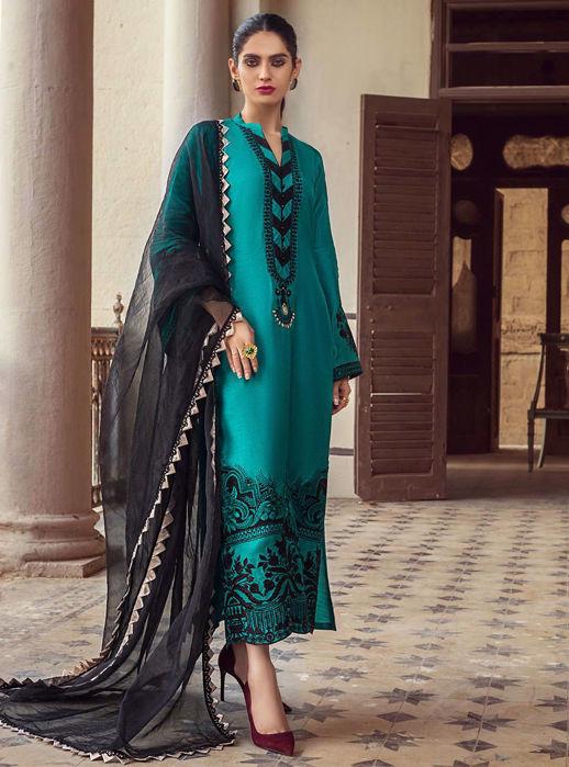 Zainab Chottani Emerald Orchid Eid Pret 2021